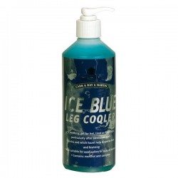 Ice blue leg cooler gel 500 ml