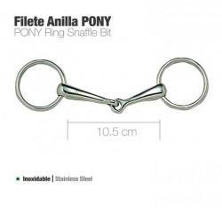 Filete anilla poni inox.