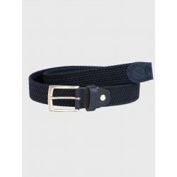 Cinturón elástico azul de...
