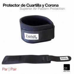 Protector de cuartilla y corona